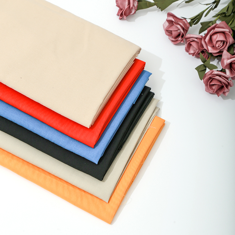 High quality T/C 80/20 21*21 108*58 twill functional fabric weave dyed fabric wholesale for uniform fabric