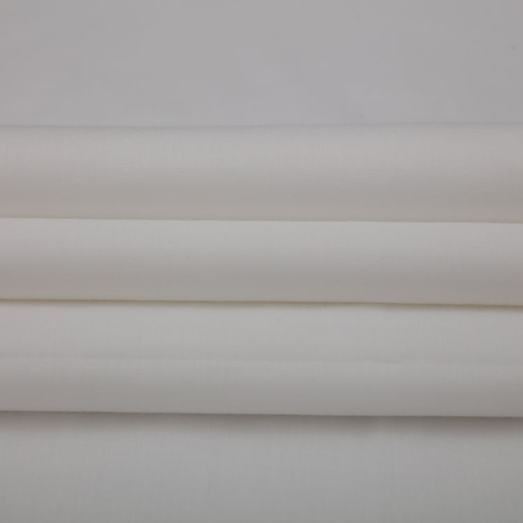 TC 65/35 45s*45s 133*72 woven poplin tc white shirt fabric