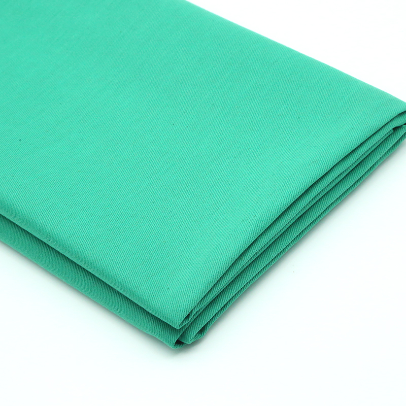 TC 65/35 or 100% cotton twill hospital uniform fabric for nurse doctor medical workwear fabric